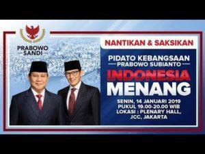 Pidato Prabowo-Subianto