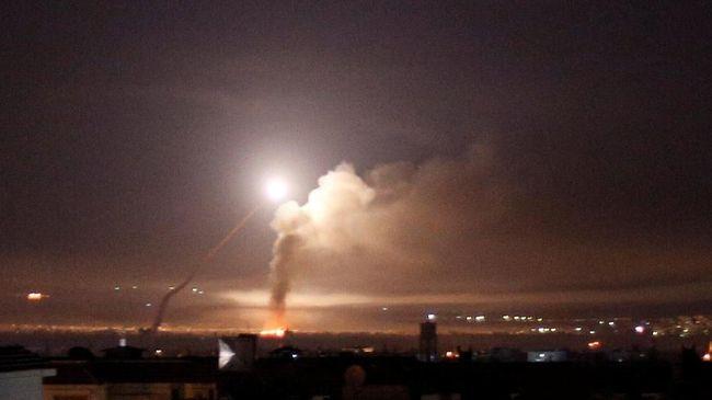Ilustrasi serangan udara.