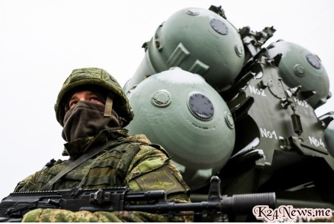 Seorang prajurit Rusia