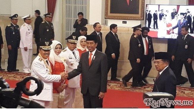 Jokowi Lantik