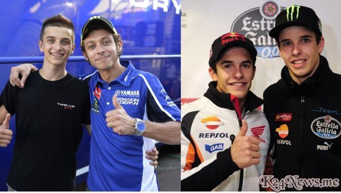 Adik Valentino Rossi