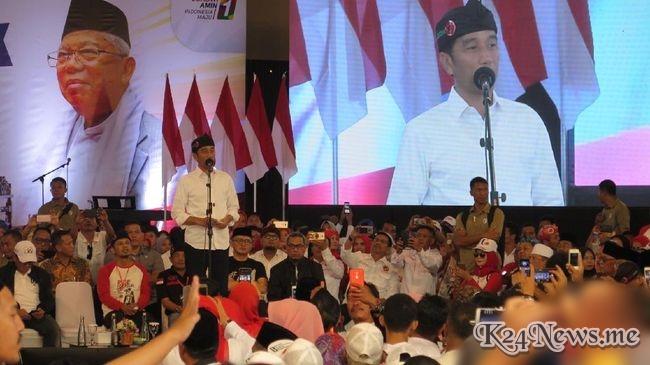 Jokowi: Hasil Survei Di Jabar Sudah Menang, Tapi Tipis Banget