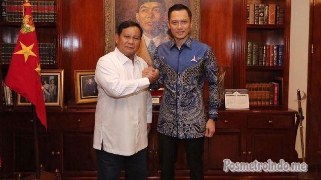 AHY Banggakan Program Sosial SBY di Depan Prabowo