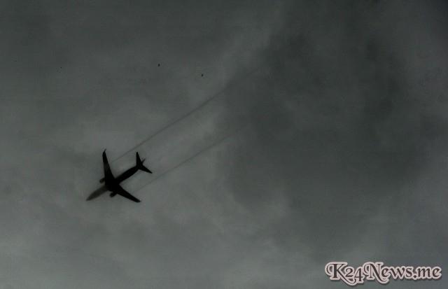 Ilustrasi pesawat hilang.