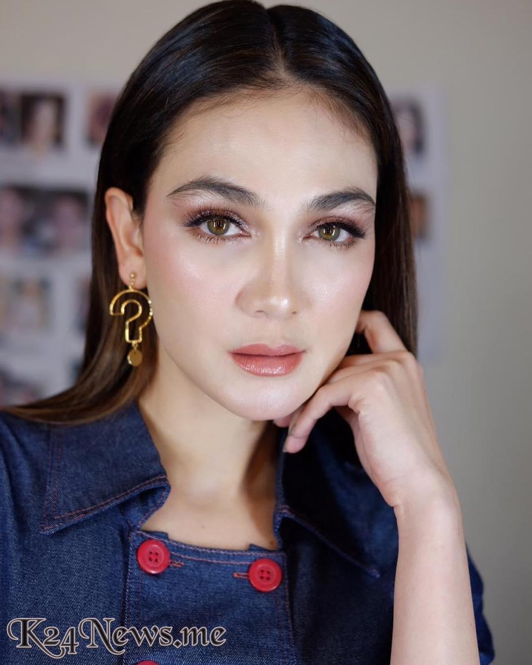 Beredar Foto Luna Maya Pakai Gaun Pengantin, Cantik Dari Syahrini