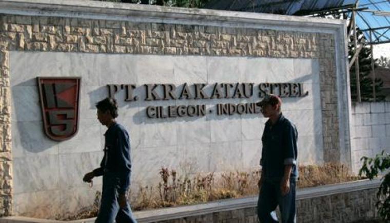 Ilustrasi Krakatau Steel.