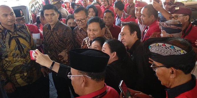 Prabowo Pamit Pulang ke Megawati: Saya sudah Kena Banyak Pukul