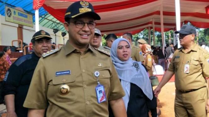 Kepala Dinas Pariwisata DKI Minta Distafkan Anies